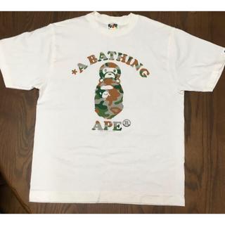 A BATHING APE - 【新品未使用 】APE Tシャツ Mサイズ(メンズ)
