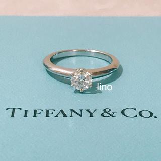 ティファニー(Tiffany & Co.)のティファニー Tiffany ソリティア ダイヤモンド リング 0.45ct(リング(指輪))
