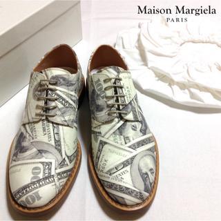 マルタンマルジェラ(Maison Martin Margiela)の新品■41■マルジェラ 18ss■ドル柄 ドレスシューズ■靴■6920(ドレス/ビジネス)