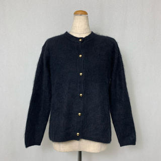 ●S396 used simple moke2 cardigan(カーディガン)