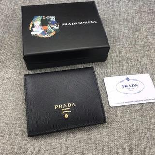 PRADA - PRADA 人気二つ折り財布