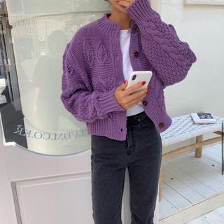 TODAYFUL - 〜 韓国 🌿 ケーブル編み デザインカーディガン 〜