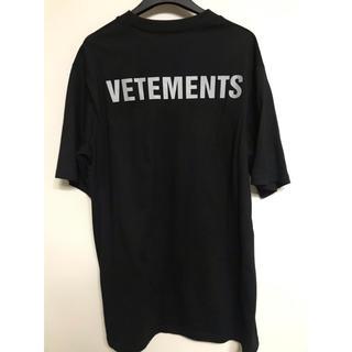 VETEMENTS 型 dude9 Tシャツ 黒