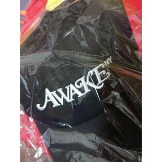 アウェイク(AWAKE)のガルドン キャップ 黒(キャップ)