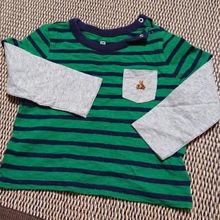 ギャップ(GAP)のGAP 長袖 ボーダーTシャツ 85~90㎝(Tシャツ/カットソー)
