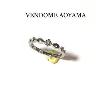 ヴァンドームアオヤマ(Vendome Aoyama)のヴァンドーム青山 リング 指輪 ダイヤモンド3P PT950 9号(リング(指輪))