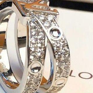 ルイヴィトン(LOUIS VUITTON)の超美品LV ルイヴィトン リング指輪 正規品(リング(指輪))