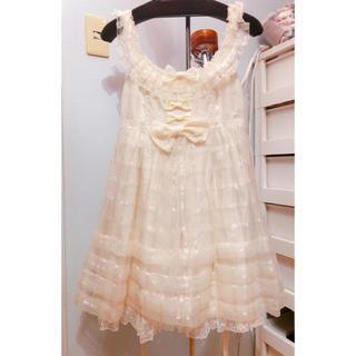 Angelic Pretty - オーロラ JSK 白 Angelic Pretty