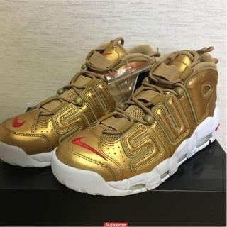 シュプリーム(Supreme)の28cm NIKE AIR MORE UPTEMPO (スニーカー)
