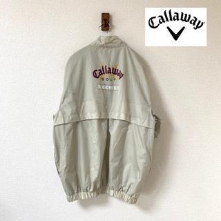 キャロウェイゴルフ(Callaway Golf)の【Callaway】X-SERIES ウインドブレーカー Mサイズ(ナイロンジャケット)