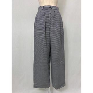 ●S405 used checkers pants(カジュアルパンツ)
