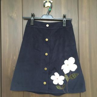 マジェスティックレゴン(MAJESTIC LEGON)のマジェスティックレゴン お花 スカート(ミニスカート)