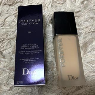 ディオール(Dior)のディオールスキンフォーエヴァーフイルドマット(ファンデーション)