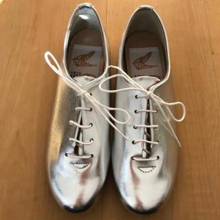レペット(repetto)の『キュート♡farfalleレースアップシューズ35 22.5』(ローファー/革靴)