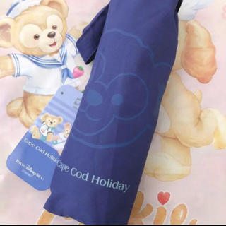 Disney - 1点のみ 定価+送料以下 ディズニー ダッフィー  折りたたみ傘