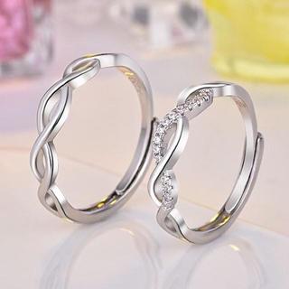 【ラッピング袋付】 SS001 ペアリング レディース メンズ リング 指輪(リング(指輪))