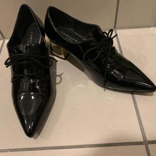 ランダ(RANDA)のRANDA シューズ ヒール キラキラ(ローファー/革靴)