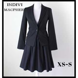 インディヴィ(INDIVI)のインディヴィ&マカフィー★ジャケット&スカート 2点セット ママスーツ 学校行事(スーツ)