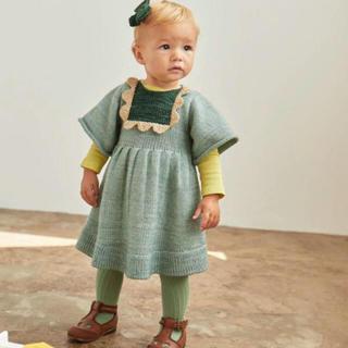 Caramel baby&child  - 2019aw Misha&Puff Scallop Bib Dress ミシャ