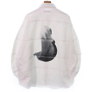 ヨウジヤマモト(Yohji Yamamoto)のalmostblack オールモストブラック シャツ ブルゾン ホワイト(シャツ)
