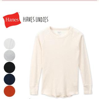 ヘインズ(Hanes)のヘインズ ワッフルTシャツ(Tシャツ/カットソー(七分/長袖))