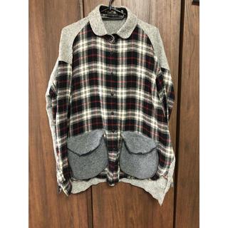 ツモリチサト(TSUMORI CHISATO)のツモリチサト ドッキングシャツ(シャツ/ブラウス(長袖/七分))