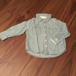ムジルシリョウヒン(MUJI (無印良品))の無印良品  ベビーシャツ(シャツ/カットソー)