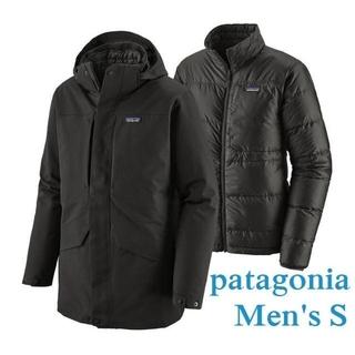 パタゴニア(patagonia)の新品 19年製 サイズS パタゴニア メンズ トレス スリーインワン パーカ(ダウンジャケット)