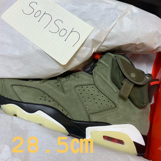 NIKE - TRAVIS SCOTT × NIKE AIR JORDAN 6 OLIVE