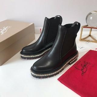 クリスチャンルブタン(Christian Louboutin)のクリスチャンルブタン 厚底 カタクロウ ショートブーツ(ブーツ)