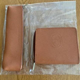 ネストローブ(nest Robe)のリンネル 付録 ネストローブ 二つ折り財布 ペンケース 2個セット 新品 未使用(財布)