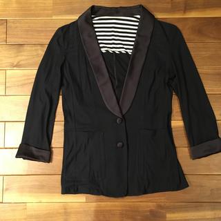 MACPHEE - MACPHEE☀︎黒のジャケット型カーディガン