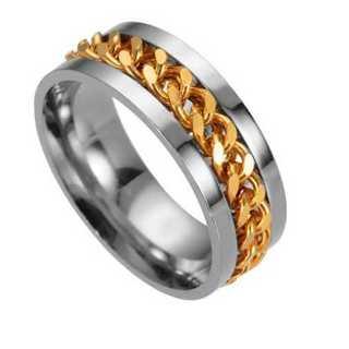 チェーンリング(ゴールド) サイズ:15号(リング(指輪))