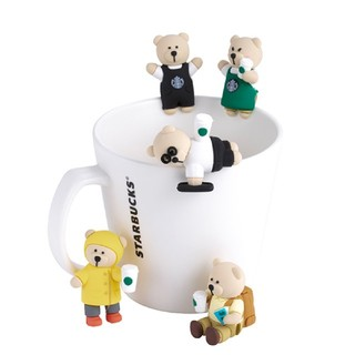 Starbucks Coffee - ベアリスタ コップのフチ子 スターバックス