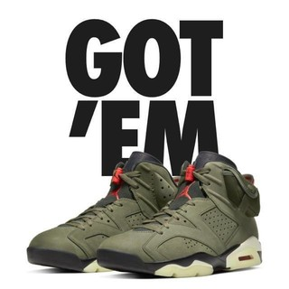 ナイキ(NIKE)のNIKE AIR JORDAN 6 GS Travis Scott 28cm(スニーカー)
