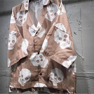 サンシー(SUNSEA)のSUNSEA 19SS GIGOROシャツ半袖(シャツ)