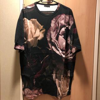 ラッドミュージシャン(LAD MUSICIAN)のラッドミュージシャン  17SS  花柄 ビッグTシャツ(Tシャツ/カットソー(半袖/袖なし))