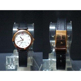 アニエスベー(agnes b.)のレア アニエスベー レザー ゴールド(腕時計)