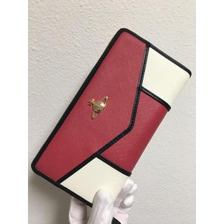 Vivienne Westwood - ピンク×ホワイトバイカラー長財布❤️ヴィヴィアンウエストウッド❤️新品