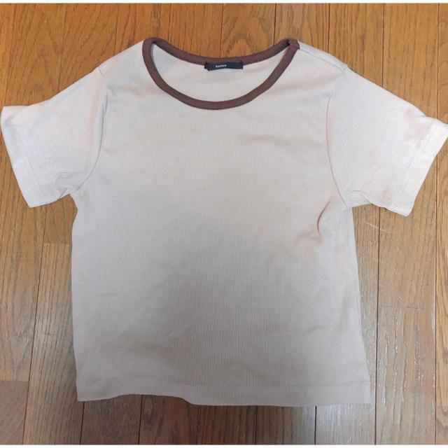 Kastane(カスタネ)のkastane リンガーリブTee レディースのトップス(Tシャツ(半袖/袖なし))の商品写真