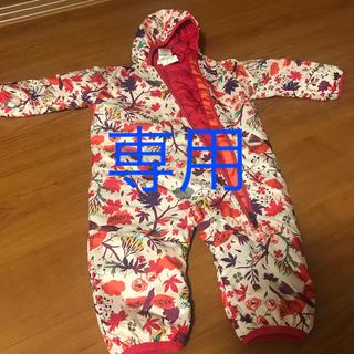 パタゴニア(patagonia)の美品 パタゴニア リバーシブルジャンプスーツ サイズ6M(カバーオール)