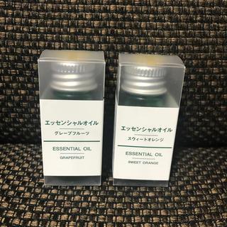 ムジルシリョウヒン(MUJI (無印良品))の無印良品 エッセンシャルオイル 2本セット(エッセンシャルオイル(精油))