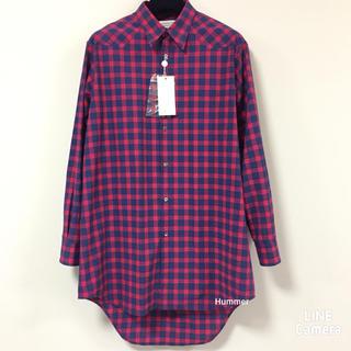 Maison Martin Margiela - 国内正規品 メゾンマルジェラ 18SS オーバーサイズ チェックシャツ 極美品!