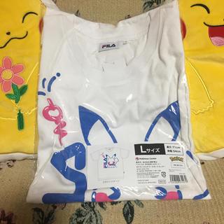 ポケモン(ポケモン)のPokemon×FILAピカチュウTシャツ(Tシャツ(半袖/袖なし))