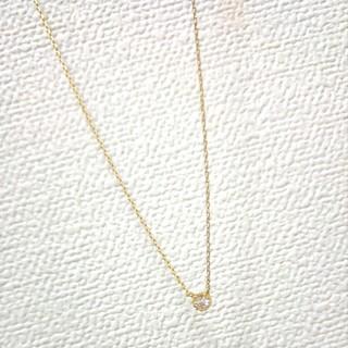 アネモネ(Ane Mone)の【アネモネ】ストーン ゴールド ネックレス【新品未使用美品】【雑誌掲載商品】(ネックレス)