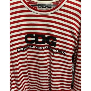 コムデギャルソン(COMME des GARCONS)のCDG ボーダーシャツ(Tシャツ/カットソー(半袖/袖なし))