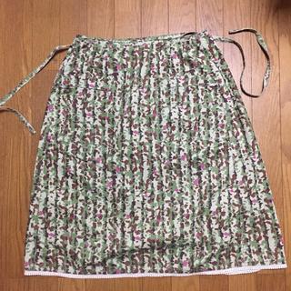 スーパーハッカ(SUPER HAKKA)のSUPER HAKKA ラップスカート 巻きスカート(ひざ丈スカート)