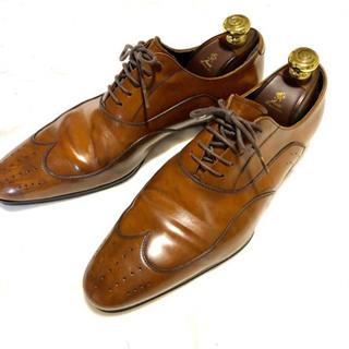 リーガル(REGAL)のリーガル ウィングチップ 革靴 24.5(ドレス/ビジネス)