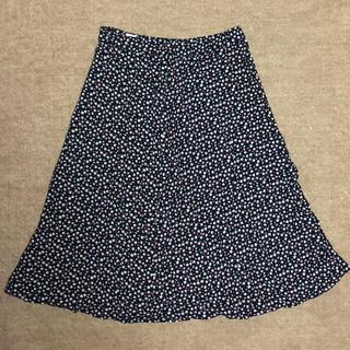 ギャップ(GAP)のGAP フレアースカート 小花柄 サイズXS(ひざ丈スカート)
