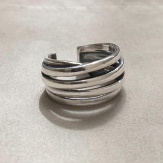 シルバー925 ラインリング シルバー ネイティブ silver925(リング(指輪))
